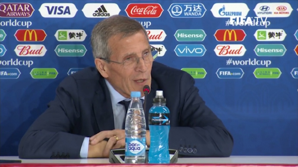 """Tabárez confía en el juego de su selección para """"tratar de llegar lo más lejos posible"""" en esta Copa América."""
