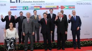 Uruguay recibe la presidencia pro témpore del Mercosur en Asunción