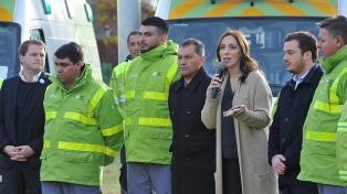 Vidal anunció la puesta en marcha del SAME en Moreno para beneficiar a 500.000 vecinos