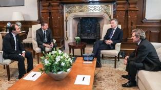 Macri recibió a un inversionista y accionista de Le Monde