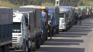 Rige la restricción de tránsito a camiones en rutas bonaerenses