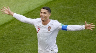 Cristiano Ronaldo brilló y le dio la clasificación a la Juventus