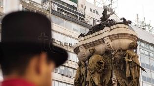 El homenaje a Manuel Belgrano, en fotos y video