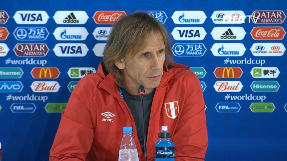 Gareca dijo que los temas político no son rsponsabilidad de la selección