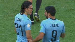 Uruguay le ganó a Rusia y se quedó con la punta del Grupo A