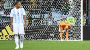 El increíble gol que sufrió Argentina por error de Caballero