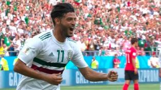 México ganó, gustó y tiene un pie en los octavos de final