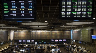 La bolsa porteña acumuló una suba de 2,27% en junio, mientras que el riesgo país cayó 5,31%