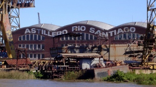 El gobierno bonaerense firmó un acuerdo para reactivar los trabajos en el Astillero Río Santiago