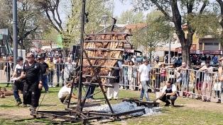 Se realiza en Mataderos la 3º edición del Campeonato Federal del Asado