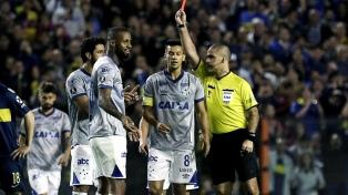La Conmebol anuló la expulsión de Dedé y jugará la revancha ante Boca