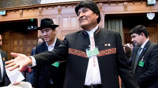 El país nunca va a renunciar a acceder al Pacífico, dijo el presidente Evo Morales