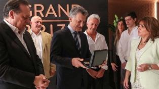 Macri encabezó la inauguración de un hotel en el centro porteño