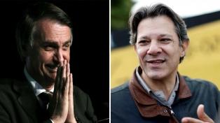 Bolsonaro y Haddad recurren a nuevas estrategias electorales para sumar votos
