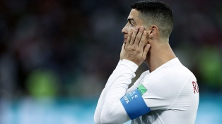 Cristiano Ronaldo se perderia Portugal-Croacia por una infección en un pie