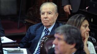Internaron al hijo chileno del ex presidente Menem