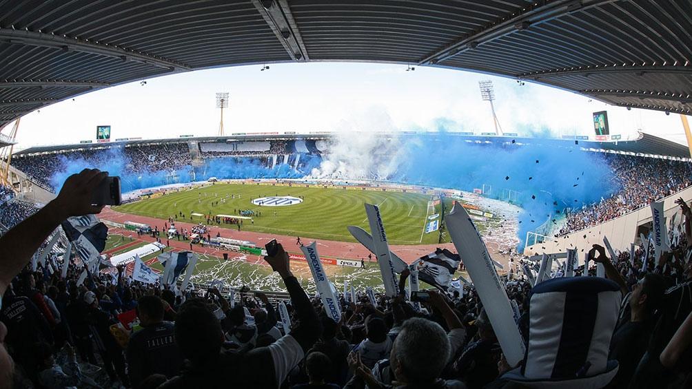 El Mario Kempes de Córdoba, uno de los estadio argentinos inspeccionados de cara a las finales 2021
