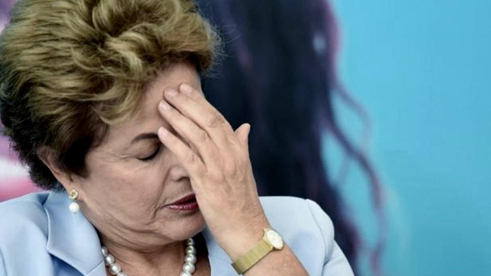 Dilma Rousseff  estuvo casi tres años detenida, de enero de 1970 hasta diciembre de 1972.