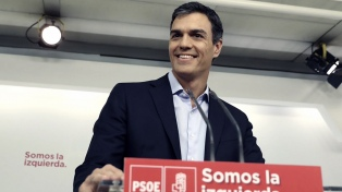 """El socialista Pedro Sánchez cerró la campaña: """"No podemos dejar el trabajo a medias"""""""