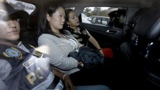 Keiko Fujimori volvió a prisión mientras la justicia sigue investigándola