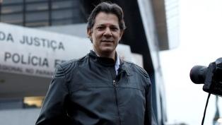 """Haddad llamó """"nazi"""" a Bolsonaro, en el reinicio de la campaña"""