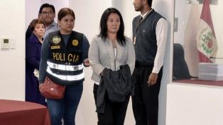 Un juez resolverá en enero si Keiko Fujimori debe volver a prisión