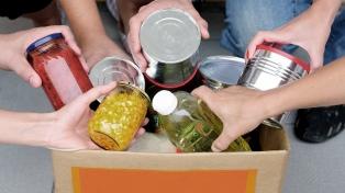 Comedores populares de la Ciudad lanzaron una campaña solidaria para garantizar alimentos