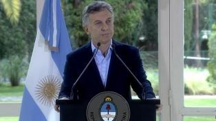 Macri anunció una nueva ley de alquileres y un tope a la cuota de los créditos UVA