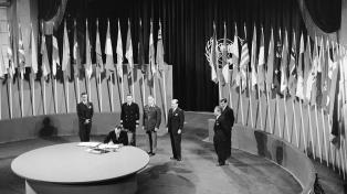 Presentan una exposición sobre la participación de la Argentina en la ONU