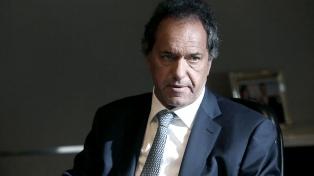 Scioli defendió ante la Justicia su participación en la sesión