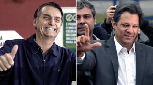 Bolsonaro y Haddad se enfrentan en una elección que implicará un quiebre