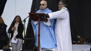 """Radrizzani pidió """"perdón"""" a los que """"han sufrido"""" por la misa en Luján con los Moyano"""
