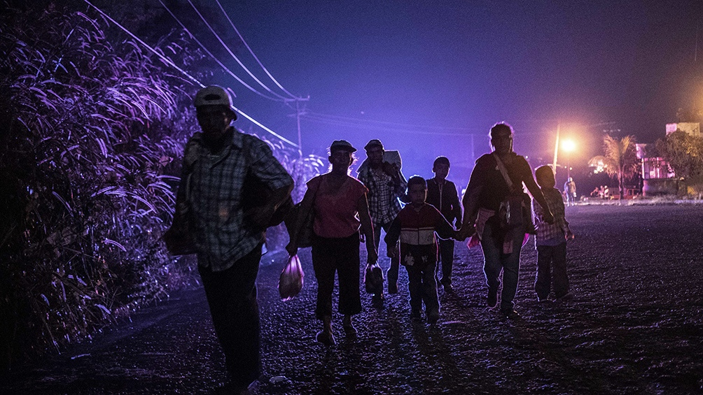 La mayoría de los migrantes atacados provenian de Honduras y Haití