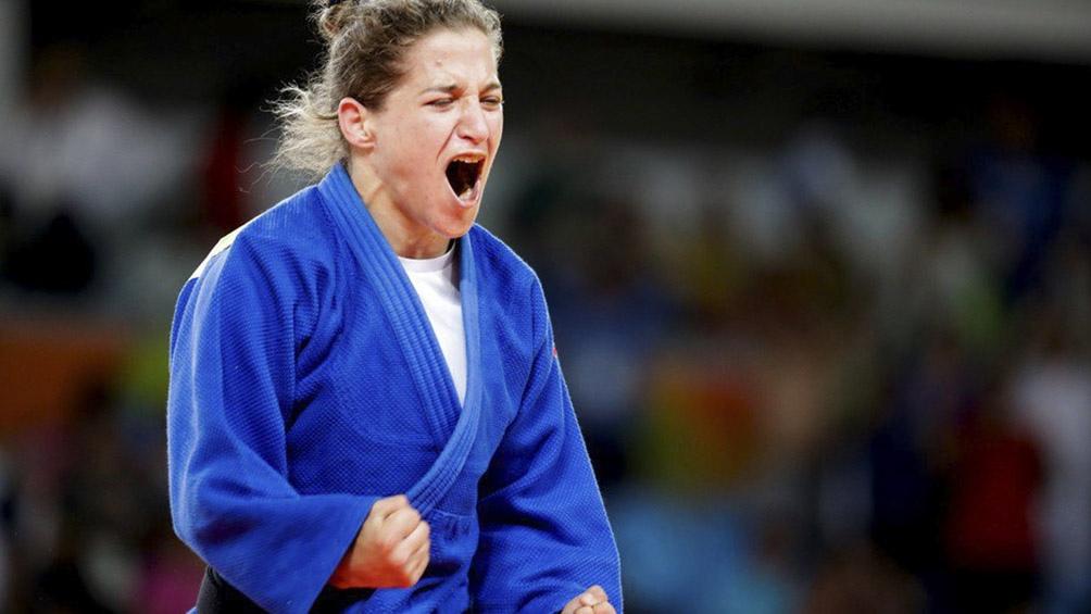 Pareto ganó la medalla de Plata en el Grand Slam de Budapest