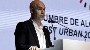 """Rodríguez Larreta: """"Avanzamos en un 83% de los compromisos de obras asumidos este año"""""""
