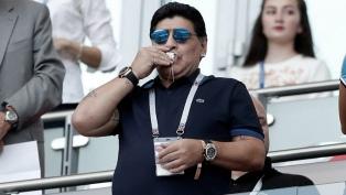 Maradona recordó al Juvenil con el que salió campeón en Japón en 1979