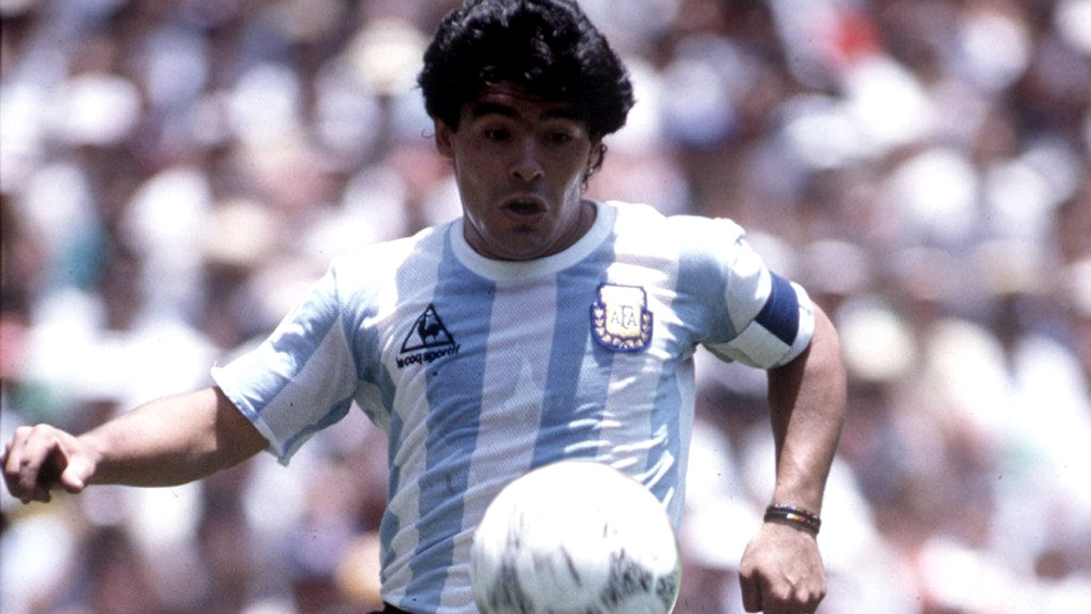 El recuerdo de cinco campeones del mundo de Diego Maradona (foto archivo)
