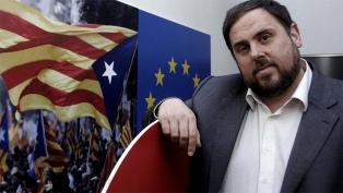 La justicia impide que el líder catalán Junqueras jure como eurodiputado