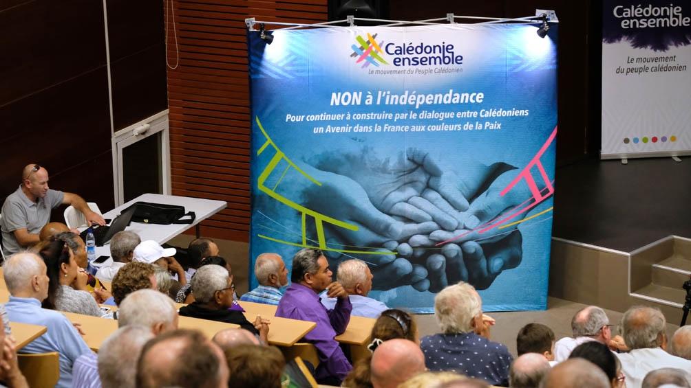 En 2018, el NO a la independencia triunfó con el 56,7 %