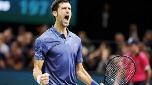 Djokovic le ganó sin apremios a Pouille y jugará la final ante Nadal