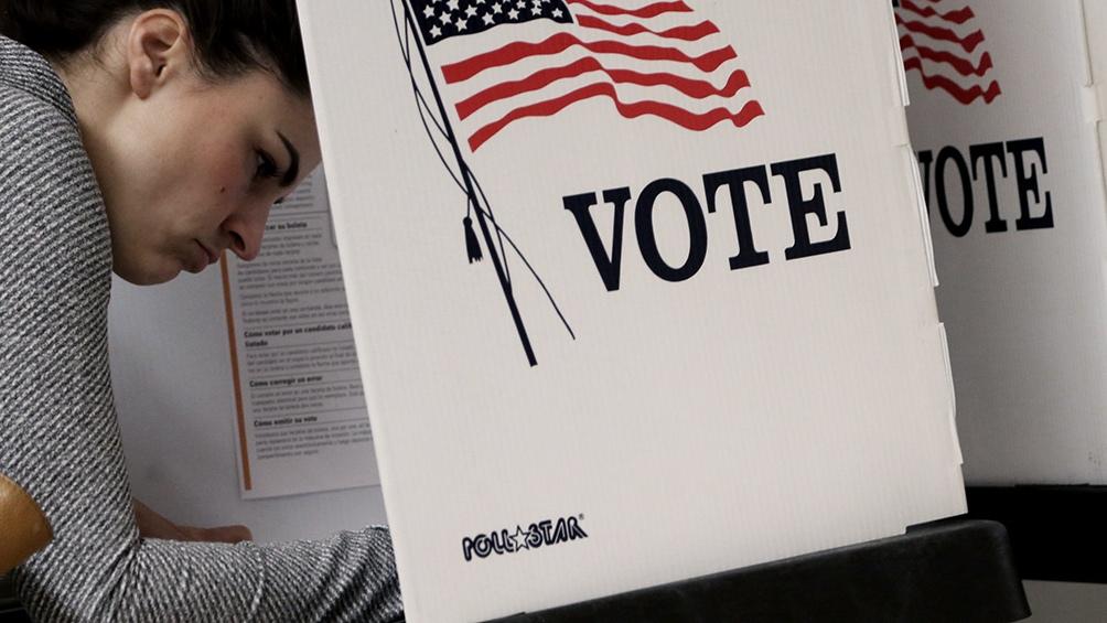 Casi 55 millones de estadounidenses ya emitieron su voto anticipado, según un conteo difundido el viernes.