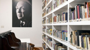 La biblioteca Miguel Cané, donde trabajó Borges, reabrió sus puertas
