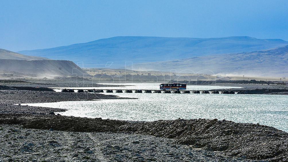 Resultado de imagen para Busca acelerar la construcción de las represas con dos puentes en el Río Santa Cruz