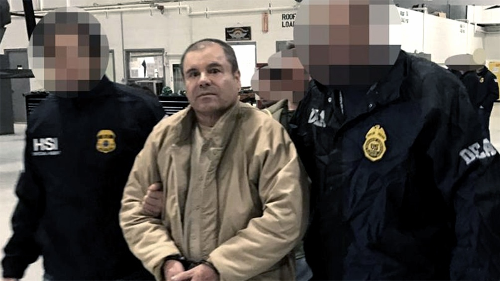 """""""El Chapo"""" fue extraditado en 2017 a Estados Unidos y dos años después fue sentenciado a una cadena perpetua."""