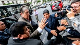 El gobierno peruano le expresó a Uruguay su posición sobre el caso del ex presidente Alan García