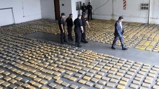 Secuestran cinco toneladas de marihuana y detienen a dos ciudadanos brasileños