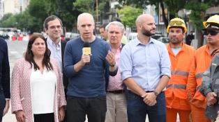 """Rodríguez Larreta: """"Las obras del Viaducto San Martín son un avance enorme"""""""