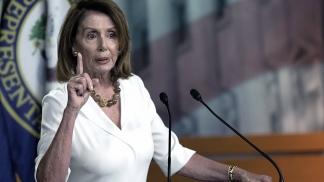 Nancy Pelosi, presidenta de la cámara baja.