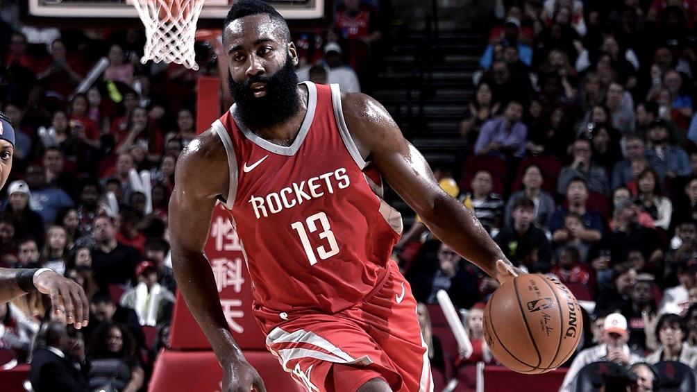 Harden, figura en los Rockets para poner el 1-0 la serie ante los Lakers