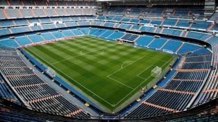 Los planteles de River y Boca ya están en el estadio Bernabéu